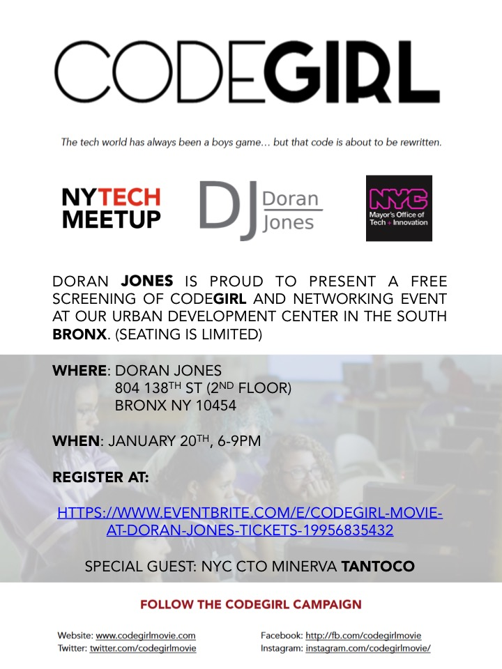 DJ CodeGirl Screening